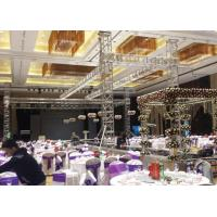 China Lightweight Aluminum Spigot Truss , Vertical Lifting Truss Customized Design wholesale