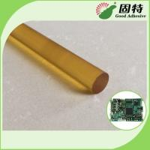 China Yellow Color High Strength Hot Melt Glue Sticks , High Temp Hot Glue Gun Glue on sale