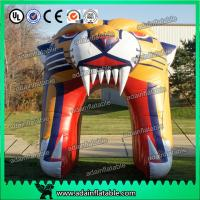 China Inflatable Tiger Head Entrance Tunnel Arch wholesale