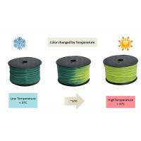 China Afinia 3D printer Thermoplastic Filament , ABS 3.0mm 3d Printer Plastic Material wholesale