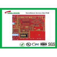 China Multilayer Pcb Manufacturing Impandence Control Circuit Board Pcb Layout Red Colour wholesale