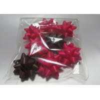 "China Multi material and colors christmas bow ribbon , 2"" - 4"" curling ribbon bows wholesale"