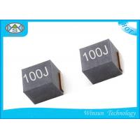 China Ferrite Shielded Power Inductor 10uH , NLV25T - 100J - PF Winding High Current Inductance wholesale