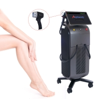 China Stationary Anybeauty SFDA 808nm Diode Laser Hair Removal Machine wholesale