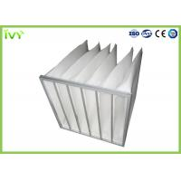 China Customzied Replacement Air Filter Bag Type Synthetic Fiber Filter Media wholesale