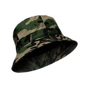 China Camouflage Sunshine Fisherman Bucket Hat For Field Exploration wholesale