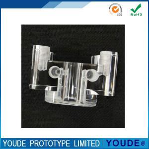 China Custom CNC Plastic Prototype , Rapid Prototyping Acrylic Transparent Part on sale