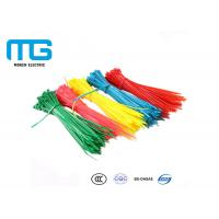 China Fireproof Nylon Cable Ties With Stand Excellent High Temperature Resistance wholesale