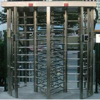 China 30 Persons / Min Stainless Full Height Turnstile with Sound and Light Alarm for Museum wholesale