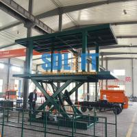 Buy cheap 3T 2.5M Double Deck Hydraulic Car Lifts from wholesalers