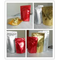 China High Puncture Resistance Shiny Printing Stand up Bottom Gusset Plastic Pouches Packaging wholesale