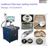 China Gold Fiber Laser Marker / Laser Engrave machine with 30W Fiber Laser Cutting Machine wholesale