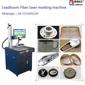 China Gold Fiber Laser Marker / Laser Engrave machine with 30W Fiber Laser Cutting Machine wholesale