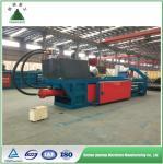 Full automatic horizontal hydraulic baler for PET plastic film/bottle baling press machine