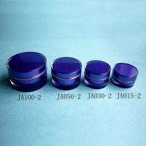 China Round Cream Jar--Right Angle wholesale