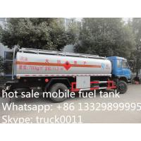 China factory sale best price Dongfeng 190hp diesel 15cbm refueling truck for sale, hot sale good price 15m3 oil tank truck on sale