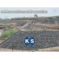 China Customized Architecture Gabion Retaining Wall with PVC Coated Galfan Wire wholesale