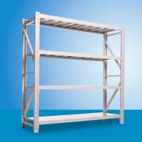 China 4 Layer Stainless Light Duty  Shelf  /  Warehouse Storage Racks Powder Coated wholesale