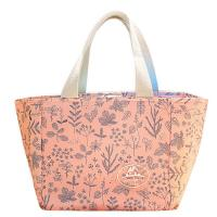 China Womens Full Color Printing Canvas Hand Bags With Cotton Handles wholesale