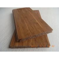 China Carbonized Strand Woven Bamboo Flooring, T&G wholesale