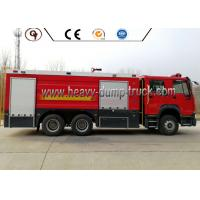 Quality 10000 Liters 371HP Emergency Rescue Vehicles 6*4 16000L Fire Fighting Truck for sale