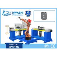 China 1100 Kg Industrial Welding Robots 1 Year Warranty For Automobile / Car Oil Tank wholesale
