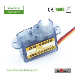 China DM-S0025 DOMAN RC 2.5g micro rc servo on sale