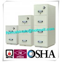 China Steel Fireproof And Waterproof File Cabinet With Drawers For Documents wholesale