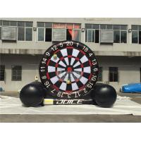 China Giant Inflatable Dart Board , Football / Golf Dartboard For Kids wholesale