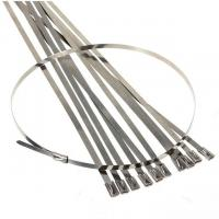 China Manufacturer Ball-Lock Stainless Steel Cable Tie 4 6 8 12 16 20 CE & ISO Certificate wholesale