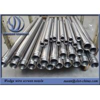 Buy cheap BSP End Connection Wedge Wire Filter Element With 0.2mm Gap Size from wholesalers