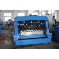 China 3.0 Steel Thickness Silo Roll Forming Machine With 10T Hydraulic Decoiler wholesale