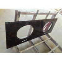 China High Resistance Granite Vanity Tops Baltic Brown For Bathroom , SGS CE Listed wholesale