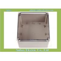 China Ip66 200*200*130mm Clear Lid Enclosures Junction Box wholesale