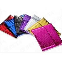China Laminated Colorful Metallic Bubble Envelopes Self Sealing For Delivery Industry wholesale