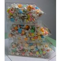 China 3 Tier Stackable Acrylic Candy Display Cases , Perspex Candy Container wholesale