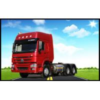 Quality Sinotruk Howo 6x4 371hp Prime Mover Tractor Truck With Two Sleepers WD615.47 Engine for sale