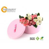 China Flower Gift Box Round Colorful Luxury Flower Custom Printed Cardboard Boxes for Gift Packing wholesale