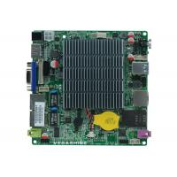 China Fanless NANO Motherboard Onboard Intel® Bay Trail Celeron J1800 CPU For Nano PC wholesale