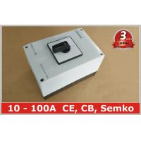 China 100A Changeover Selector Switch Waterproof Ip65 , 3 Position Rotary Switch on sale