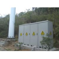 China Outdoor Telecom Enclosure, With Battery, Equipment, MDF Compartment, Fans Cooling wholesale