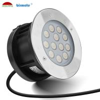 China 9W Recessed Underwater Light , Stainless Steel Color Changing Led Pool Lights wholesale