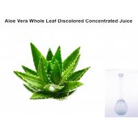 China Off - White Ropy Liquid  Aloe Vera Extract Powder Whole Leaf Discolored Concentrated Juice wholesale