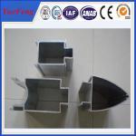China NEW! aluminum 6061 profile timed glalss aluminum wall, aluminum curtain wall profile wholesale