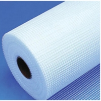 China 4x4mm,145g white color fiberglass EIFS Mesh used for reinforcing material wholesale