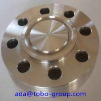 China Copper Nickel Alloy 70/30 Forged Steel Flanges Class 150 SCH40 14'' B16.9 wholesale