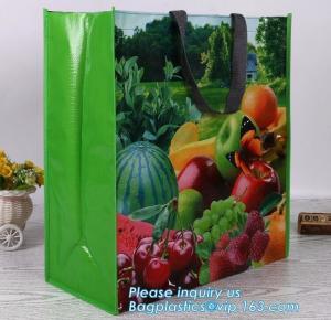China Eco Friendly Custom Logo Printing PP Woven Laminated Foldable Shopping Bag,Custom Cheap Shopping Bag PP pac Woven Polypr wholesale