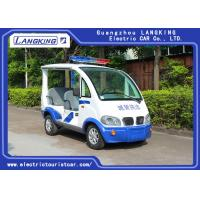 China 8~10h Recharge Electric Club Car / DC Motor 48Volt 4 Seater Golf Buggy With Toplight on sale