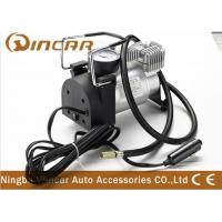 China CE Approved 12V Portable Air Compressor For Car Tire Inflator Over Load Protection wholesale