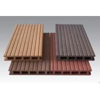 China Wood Plastic Composite Outside Round And Square Circular Hollow Wpc Decks wholesale